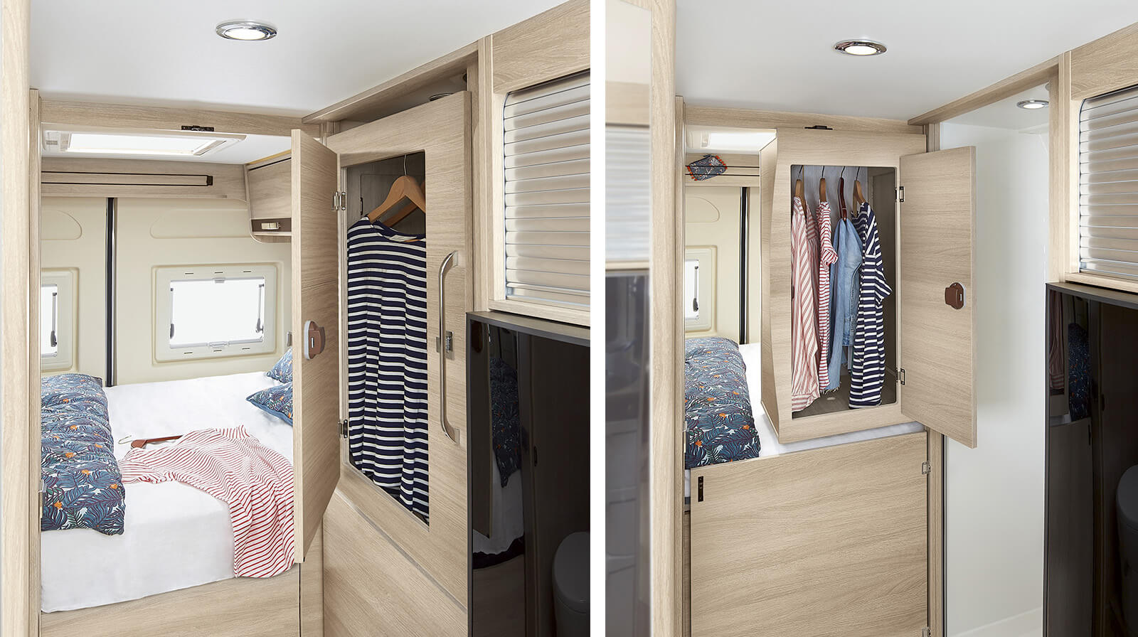 le mod le v55 est un van rapido am nag compact et. Black Bedroom Furniture Sets. Home Design Ideas