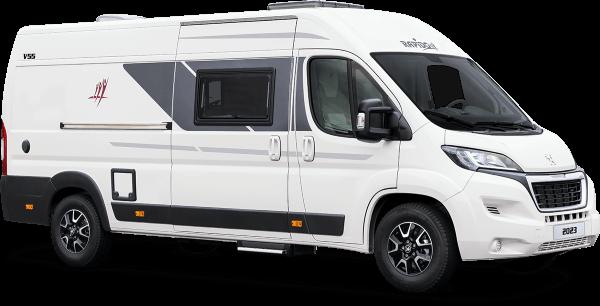 Célèbre Le modèle V55 est un Van Rapido aménagé, compact et confortable DH77