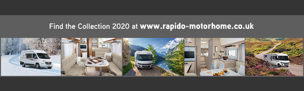 Entdecken Sie die Kollektion 2019 auf www.rapido-reisemobile.de
