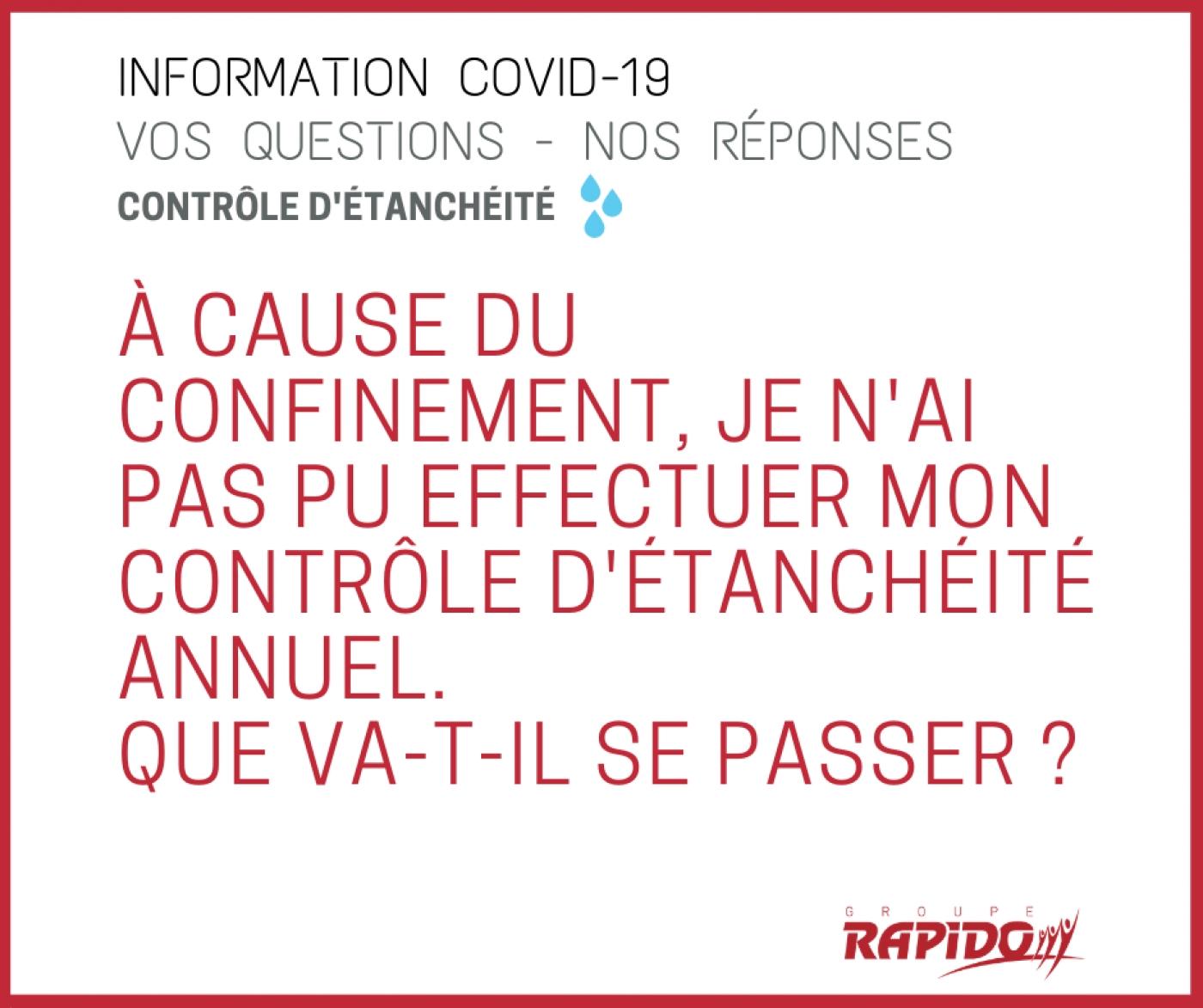 Groupe RAPIDO - Information COVID-19 CORONAVIRUS