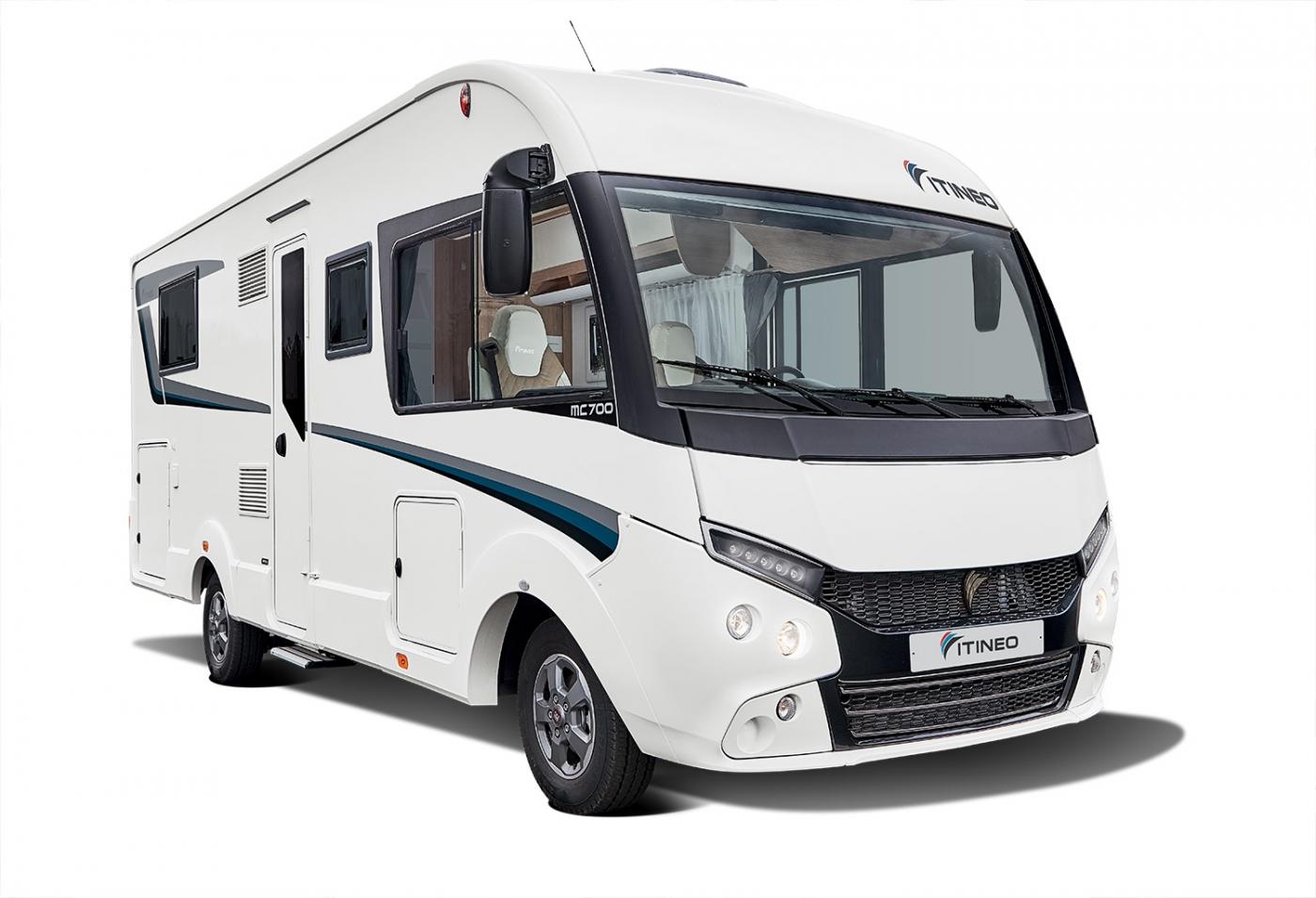 Die neuen Modelle 2021: vollintegrierte Reisemobile mit einer Länge von weniger als 7 m
